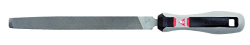 Bellota 40016EMB lima mecanico plana punta mango bimaterial 6 entrefina