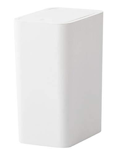 FZWAI 8L indrukken Type Plastic Vuilnisbak Beperk rechthoek Afval sorteren bunker Badkamer BedroomStorage Bucket Huis schoonmaken Tool