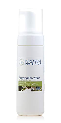 Handmade Naturals Antibacterial Foaming Face Wash