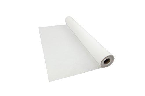 Sensalux B1 Tischdeckenrolle, Standard 100 by Oeko-TEX® - Klasse I, 1,2m x 25m, Tischtuch, schwer entflammbar, stoffähnliches Vlies, weiß