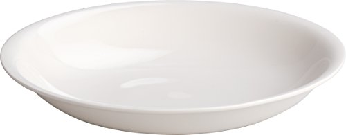 "Alessi""All-Time"" Soup Bowls in Bone China (Set of 4), White"