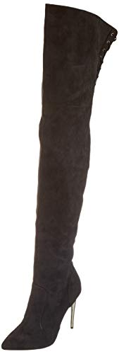 Buffalo Damen Fiete Overknees, Schwarz (Black 001), 38 EU