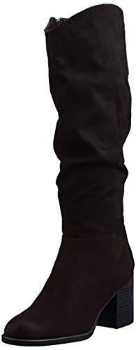 s.Oliver Damen 5-5-25505-25 Kniehohe Stiefel, Black, 39 EU