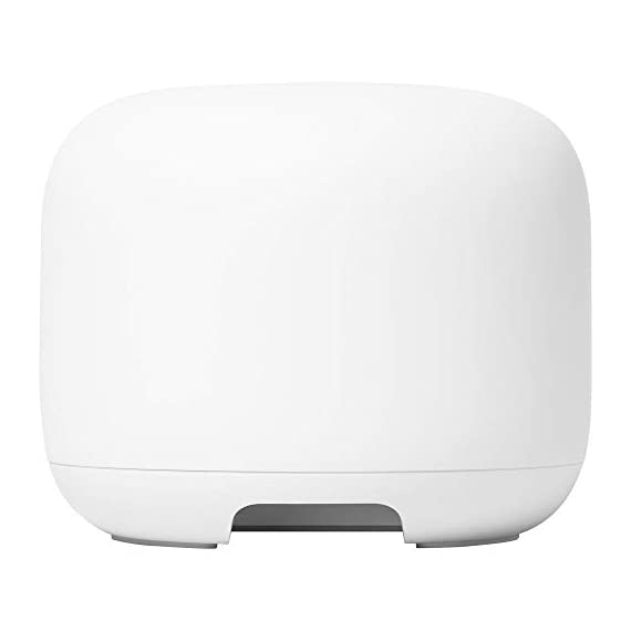 Google Nest Wi-Fi Router - 1-Pack (GA00595-US) with 2-Pack WiFi Smart Plug & Ethernet Cable 3 MEET the NEW NEST WiFi. Smarter Whole Home MESH Coverage   STRONG CONNECTION. EVERY DIRECTION. The Nest Wifi router and point work together to blanket your whole home in fast, reliable Wi-Fi and eliminate buffering in every room Parental permissions let you set schedules to manage screen time, restrict certain kinds of adult content, and pause Wi-Fi to specific devices whenever you want