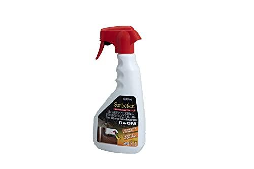 Sandokan Repellente per Ragni Insetticida Ragni e Ragnatele Efficace Prevenzione Anti Ragno per Interno ed Esterno
