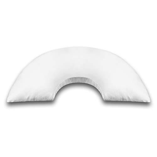 SANDINI DreamFix – U-Förmiges Kopfkissen für optimale Schlafposition – Stabilisiert Kopf, Hals und Wirbelsäule im Schlaf – Von Physiotherapeuten empfohlen