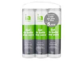 INTERAPOTHEK GEL ALOE VERA 3X1000ML