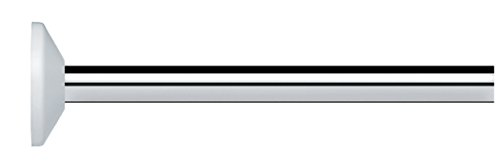 Spirella 10.10329 universele douchestang, verchroomd, aluminium Aspect, 82 x 3 x 3 cm