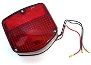 4into1 Reproduction Tail Light Assembly - 33701-126-721 - Compatible with Honda C/CT/SL/XL70 CT90/110/125 SL/XL/CL100 CB/MT/SL/CL/XL125 CM185/200T XL250/350 CM400T/450