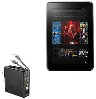 Carregador BoxWave para Kindle Fire HD 8.9 (2ª geração 2012), [Carregador de parede sem fio Rejuva (10.000mAh)] Carregador...