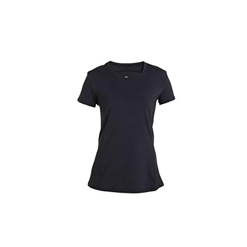 Back on Track Damen Ophelia T-Shirt, Noir, Large