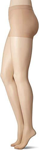 SABRINA Graduated Compression Pantyhose Sheer Japanese Stocking L Natural Beige