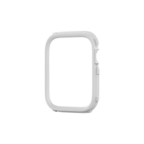 RhinoShield CrashGuard NX Extra Rim [ONLY] Compatible with Apple Watch SE [44mm] & Series 6 / 5 / 4 [44mm] & Series 3 / 2 / 1 [42mm]   Additional Accessory for RhinoShield Apple Watch Case - White