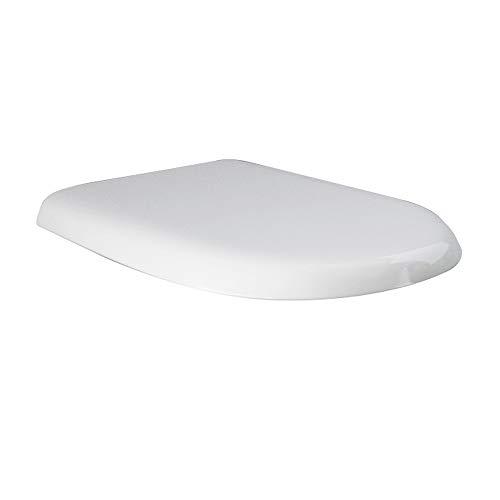 Inbagno Copriwater RAK Serie Compact Originale Avvolgente in Termoindurente Bianco