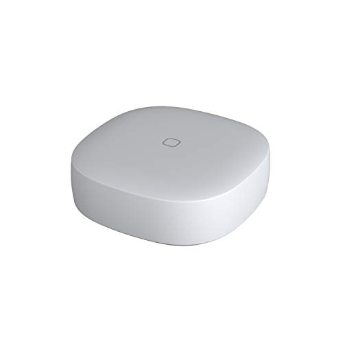 Samsung [GP-U999SJVLEAA] SmartThings Button  One-Touch Remote Control for Lights, Appliances, and Scenes - SmartThings Hub Compatible - ZigBee - White