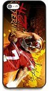 Colin Kaepernick Signed HD Cell Phone Cases for iPhone 5C Case (Black) Hard Shell