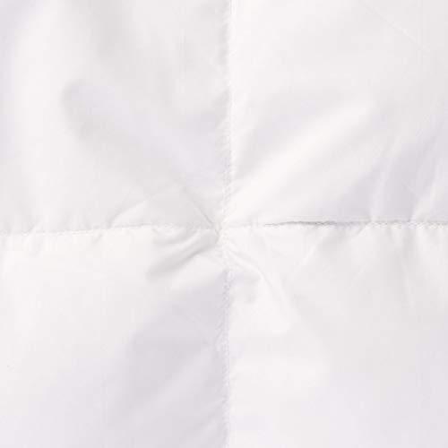 無印良品グレー羽毛掛ふとん・軽量一層式/D190×210cm82049589