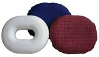 Rose healthcare Memory Foam Donut Tailbone & Coccyx Seat Cushion - Pain Relief Pillow for Hemorrhoid, Prostate, Pregnancy, Post Natal, Post Surgery and Sciatica Memory Foam Large, 18