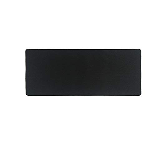 SFBBBO Mouse mat Pure Black Large Gaming Mouse Pad Mouse Mat Keyboard Mat Table Mat Desk Mat for Gamer Mousepad 300x800x2mm Black