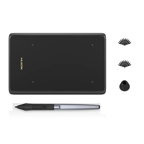 HUION Inspiroy H420X OSU Tablet Graphics Drawing Tablets Digital Writing Pad with 8192 Levels Battery-Free Pen, Compatible with Chromebook, Mac, PC or Android Mobile, 16 Pen Nibs Included