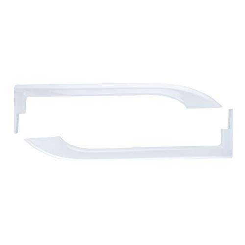 5304506469 5304486359 Refrigerator Door Handles for Fri-gidaire - Replace Part Number # AP6036330 242059504 242059501 5304497105 5304504507 Left and Right Handle Set
