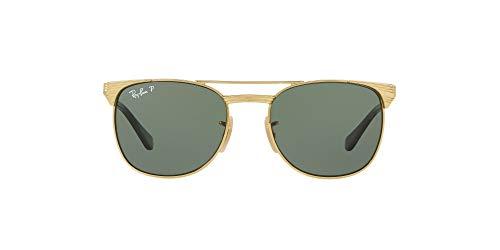 Ray-Ban Unisex kinderen 0RJ9540S zonnebril, goud (goud/grijn), 5