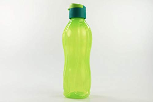 Tupperware Botella Ecológica Click de 750 ml Cal con Tapa Turquesa/Verde 34099