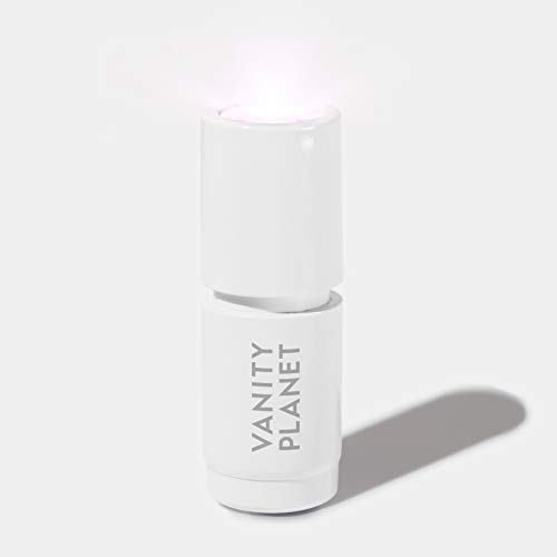 Vanity Planet Veil Acne Spot Treatment, Complete Skincare with Blue and Red LED Light Therapy for Acne, Inflammation and Redness, Suitable for All Skin Types