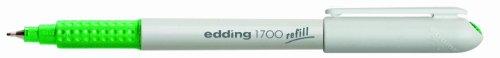 Edding Vario Lot de 10 Feutres fins avec Pointe synthétique gainée métal 0,5 mm Vert