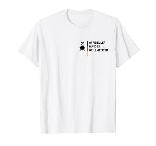 Herren Offizieller Bundes Grillmeister. Bundesgrillmeister. BRD Fun T-Shirt