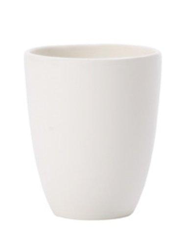 Villeroy & Boch Espressotasse, Porzellan, weiß, 9 x 9 x 5 cm