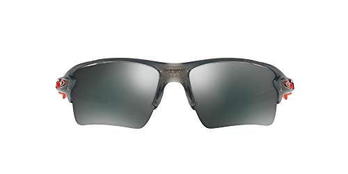 Oakley Men's OO9188 Flak 2.0 XL Sunglasses, Matte Black/Black Iridium, 59 mm