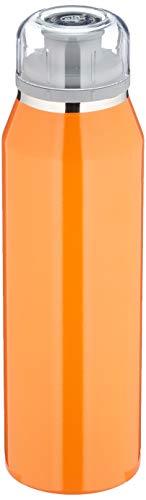 alfi Trinkflasche 500ml, isoBottle, Thermosflasche, Edelstahl orange Isolierflasche auslaufsicher, Wasserflasche 5677.134.050, Thermoskanne 12 Stunden heiß, 24 Stunden kalt
