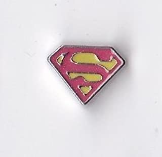 Superman Floating Charm