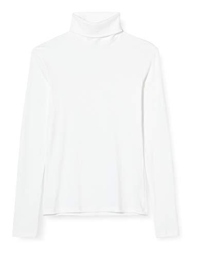 Petit Bateau 5608202 Sous Pull Iconique Femme ,Blanc,Medium
