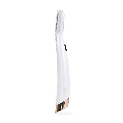 Multifunktionale tragbare Lady Shaver LED Augenbrauenmesser LED Haarschneider Frauen Kleine LED Augenbrauenmesser-Polen