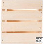 Cajas y palet – Caja de madera cuadrada: Amazon.es: Oficina y ...