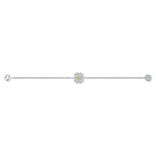 Swarovski Strand Remix Collection Flower, Bianco, Placcato Rodio