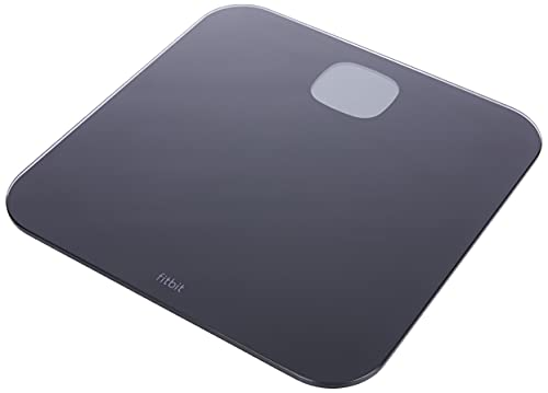 Fitbit Aria Air Bluetooth Digital Body Weight and BMI Smart Scale, Black