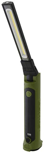 【Amazon.co.jp 限定】GENTOS(ジェントス) 作業灯 LED ワークライト 折りたたみ USB充電式 【明るさ500ルーメン/実用点灯3時間/防塵】 ガンツ モスグリーン GZ-203MG ANSI規格準拠