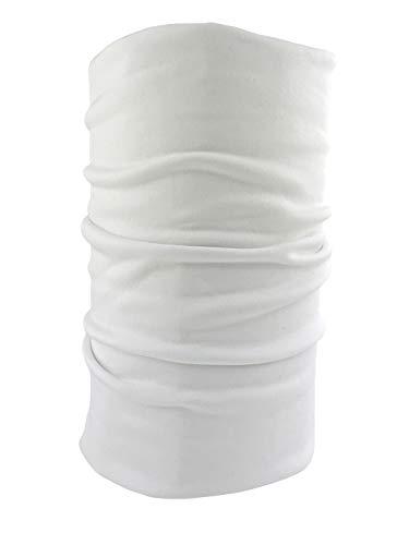 Subzero, scaldacollo termico morbidissimo, lungo, con strato intermedio in meraklon , White, Taglia unica