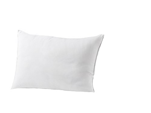 Exquisite Hotel King Size Bed Pillow- Single White Hotel Pillow- Gel Fiber Filled FIRM Gel Pillow with Hypoallergenic Classic Cover- Best Pillow For Side Sleepers & Back Sleepers