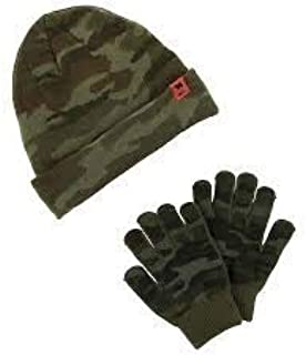 Carter's Boy's Camo Hat and Glove Set Size 4-8