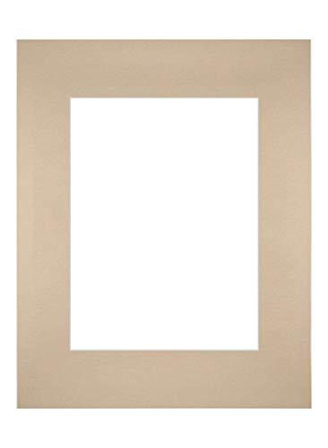 Your Decoration Passepartout 28x35cm/18x24cm Karton Beige Rand Gerade