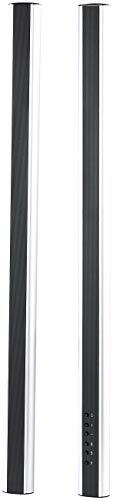 auvisio Stablautsprecher: Aktive Stereo-Stab-Lautsprecher SSL-700.A für HiFi & TV, 40 W (Fernsehlautsprecher)