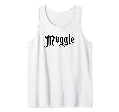 Harry Potter Muggle White Canotta