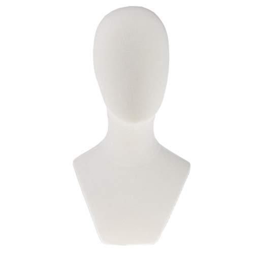 Baoblaze Tete de Mannequin pour Affichage Mannequin de Formation de Coiffure Épingles à Têt - #2