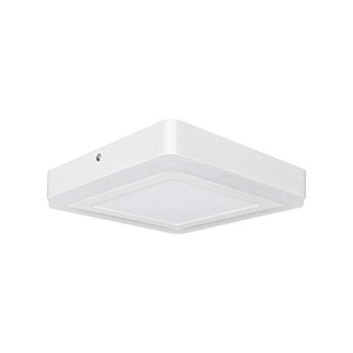 Osram LED Wand- und Deckenleuchte, Leuchte für Innenanwendungen, Warmweiß, Bereiche einzeln steuerbar per Wandschalter, Erinnerungsfunktion, LED Click Square Square