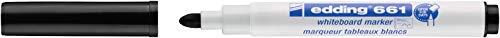 Edding 661-001 - Marcador para pizarra blanca, 10 unidades,