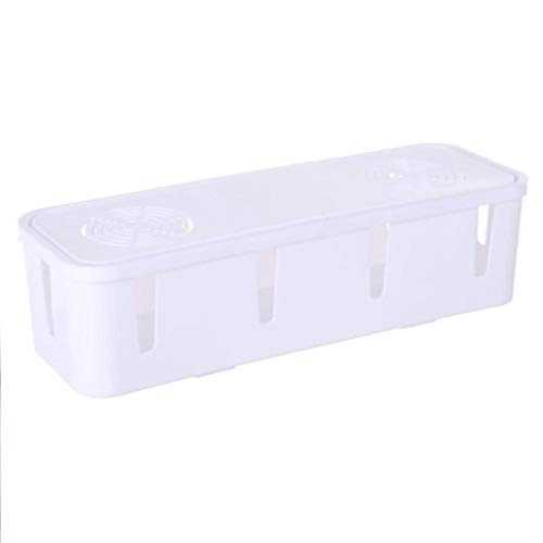 MAOXI Kabel Aufbewahrungsbox Draht Management Socket Organizer Home Container Kabel Management Case Home Decor